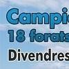 CAMPIONAT DE GOLF 18 FORATS RECORREGUT VERD · DIVENDRES 18 D'ABRIL