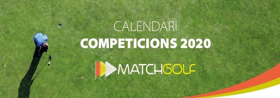Comencem l'any amb la competició de MatchGolf Cup. 2a Prova 16 de març. Anul.lada fins nou avís!