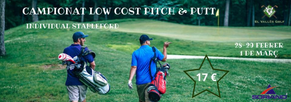 Campionat Low Cost Pitch & Putt. Propera prova 27-28-29 març. Anul.lada fins nou avís!