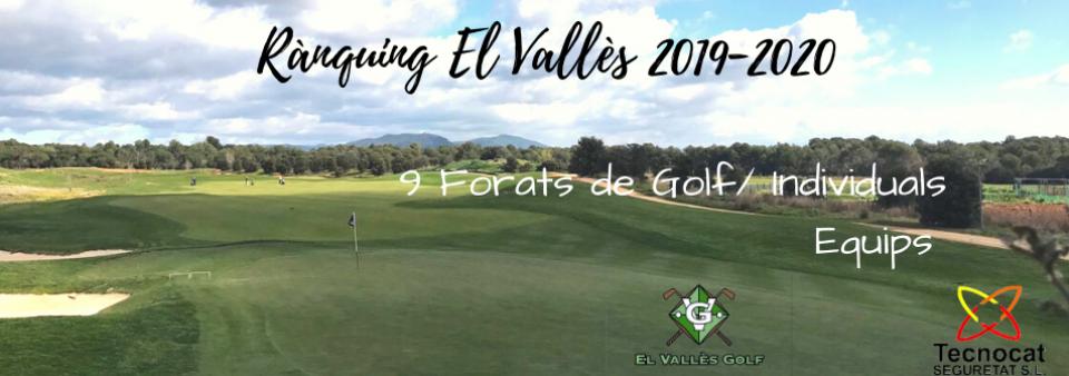Rànquing El Vallès, Propera prova 26 i 27 setembre