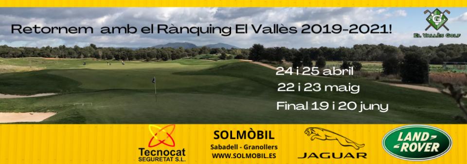 Retornem amb el Rànquing El Vallès! 24 i 25 d'abril