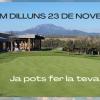 TORNEM DILLUNS 23 DE NOVEMBRE. FES LA TEVA RESERVA!