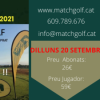 RESULTATS MATCHGOLF VALLÈS CUP DILLUNS 20 DE SETEMBRE