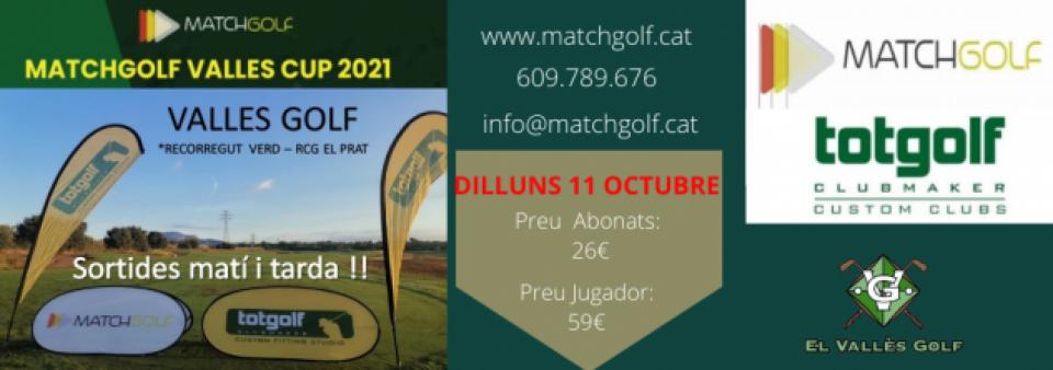 Matchgolf Vallès Cup propera prova 11 d'octubre