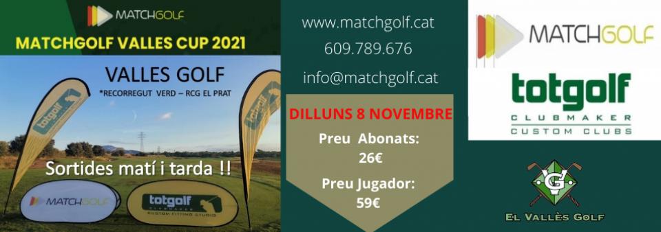 Matchgolf Vallès Cup propera prova 8 de novembre