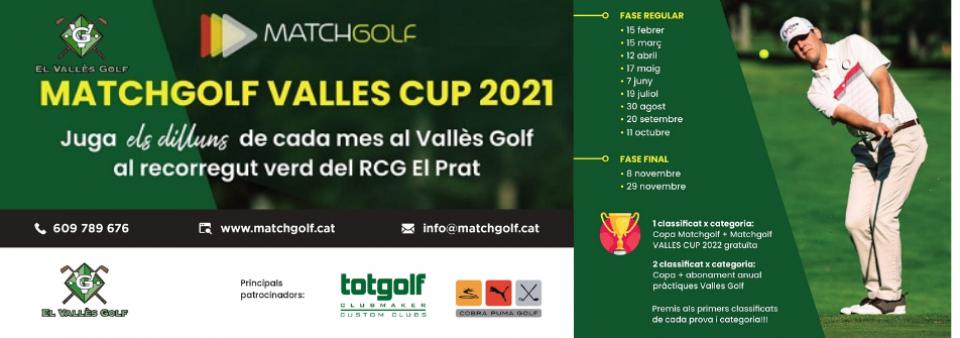 Comencen les proves oficials! Dilluns 17 maig Matchgolf Vallès Cup 2021!