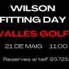 WILSON FITTING DAY 21 DE MAIG