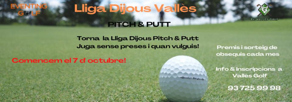 Torna al octubre la Lliga del Dijous Pitch & Putt!